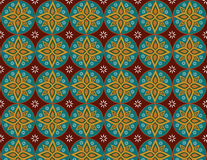 Flowers patterns background thai. Patterns make with program and good work Royalty Free Stock Photos