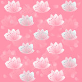 Flowers petals pink background wallpaper Royalty Free Stock Photo