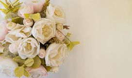 Flowers place for inscription stock photos