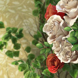 flowers and plants holiday background Royalty Free Stock Images