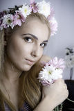 Flowers princess Royalty Free Stock Photography