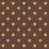Flowers Retro Abstract Background Stock Photography
