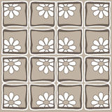 Flowers - Retro Style Royalty Free Stock Images