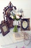 Flowers Retro Stock Photo