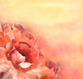 Flowers (roses) in pastel royalty free illustration