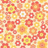Flowers seamless pattern Royalty Free Stock Photography