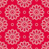 Flowers seamless pattern Royalty Free Stock Photos