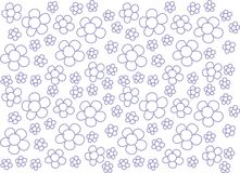 Flowers Seamless pattern Cute Flowers. Cute s patterns Royalty Free Stock Photography