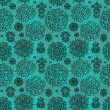 Flowers seamless pattern Stock Image