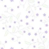 Flowers seamless pattern Royalty Free Stock Image