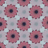 Flowers seamless pattern. stock image