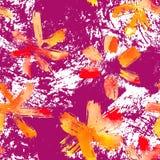 Flowers seamless pattern Stock Photos