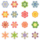 Flowers set royalty free illustration