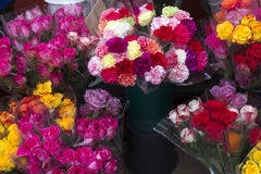 Flowers in a shop Royalty Free Stock Photos