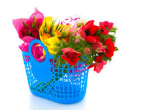 Flowers shopping Stock Photography