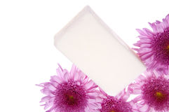 Flowers and Soap Spa Image Stock Photography