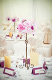 Flowers on sticks. Floral arrangement, that can be used for decorating tables at the wedding Royalty Free Stock Photo