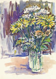 Flowers, still life Stock Photos