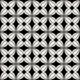 Flowers stylized seamless pattern Stock Photos
