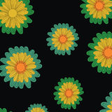 Flowers. Sun flowers colours  background Stock Photo