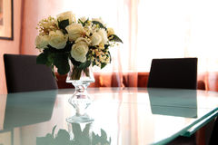 Flowers on the table Stock Photo