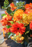 Flowers on table Royalty Free Stock Photos