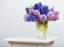 Flowers on table Stock Images