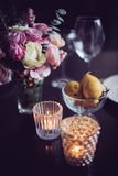 Flowers on a table Royalty Free Stock Images