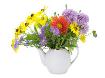 Flowers tea concept Royalty Free Stock Photo