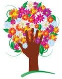 Flowers tree Royalty Free Stock Photo