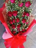Flowers for Valentine& x27;s stock photography