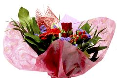 Flowers for valentines day Stock Photo
