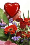 Flowers for valentines day Stock Photos