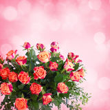Flowers for valentines or mothers day Stock Photo