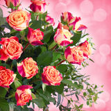 Flowers for valentines or mothers day Royalty Free Stock Image