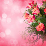 Flowers for valentines or mothers day Royalty Free Stock Images
