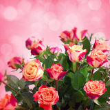 Flowers for valentines or mothers day Royalty Free Stock Photo