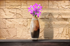Flowers in a Vase. / Middle composition Stock Photography