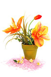 Flowers in vase Stock Image