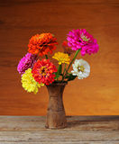 Flowers in a vase Stock Images