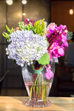 Flowers vase Stock Image