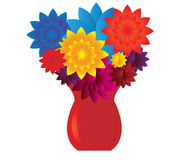 Flowers in vase Royalty Free Stock Photo