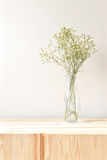 Flowers in a vase at home. Thailand royalty free stock photography