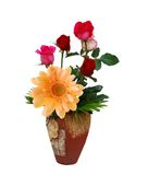 Flowers vase  natural Royalty Free Stock Photo