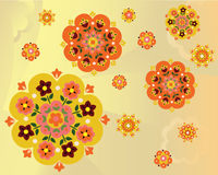 Flowers vector Stock Image