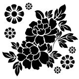 Flowers vector Stock Images