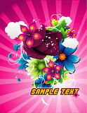 Flowers vector illustration Stock Image