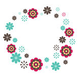 Flowers. vector illustration Royalty Free Stock Photography