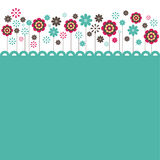 Flowers. vector illustration Stock Photos