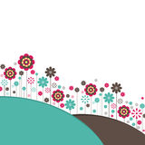 Flowers. Vector Illustration Stock Photo